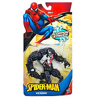 Игровая Фигурка суперзлодея Веном из фильма Человек-паук высота 18см, для детей от 4 лет - Venom, Marvel,