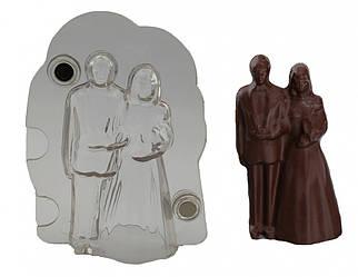 Форма для шоколаду 3D Молодята