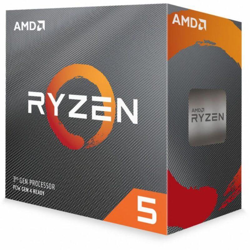 Процессор AMD Ryzen 5 3600X 3.8GHz/32MB sAM4, BOX (100-100000022BOX)