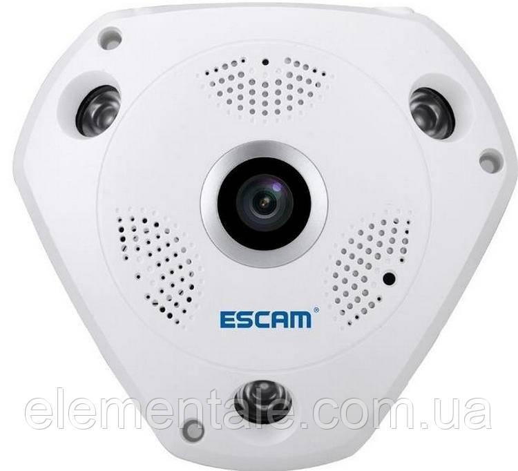 Панорамна IP-камера відеоспостереження XPX 360 градусів WI-FI Full HD