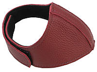 Автопятка шкіряна для жіночого взуття бордова 608835-18, фото 1
