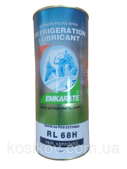 Синтетичне фреонове масло POE RL 68H Emkarate