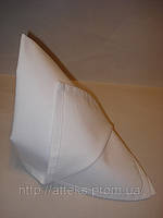 Салфетка тканевая сервировочная белая