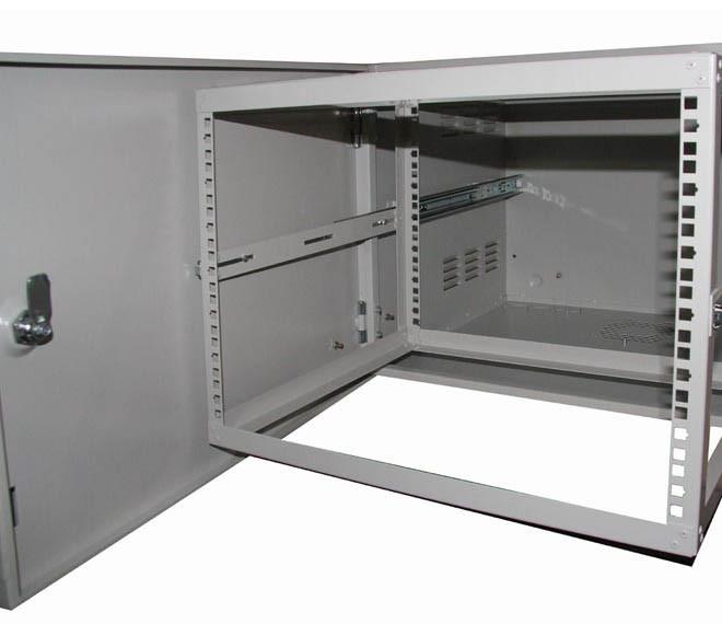 """Шкаф антивандальный 19"""" внешнего исполнения VA 12U-450"""