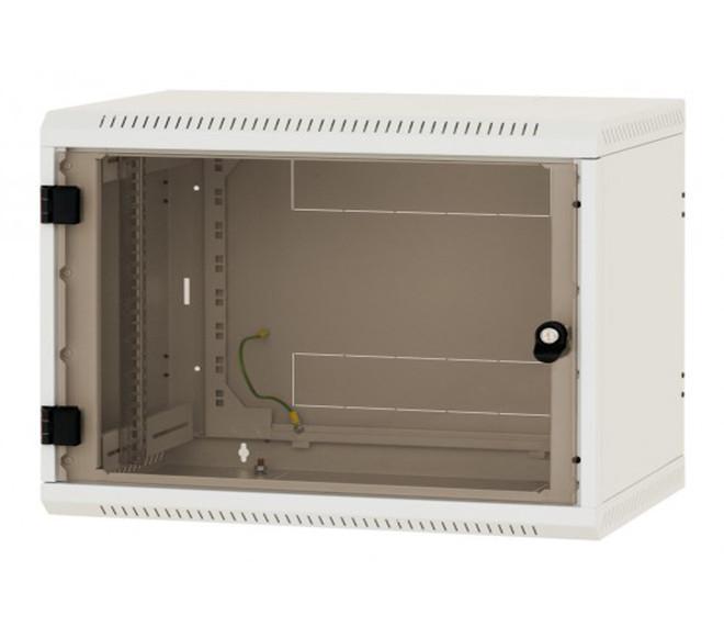 Настенный шкаф односекционный со съёмными стенками Triton 9U (520x600x595)