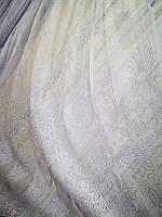 Тюль лен белый Premium Турция, фото 1