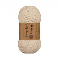 Kartopu Melange Wool - 837 беж
