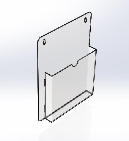 Карман настенный А5 формата