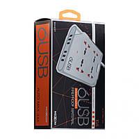 Сетевой USB Удлинитель Moxom KH-63Y, фото 1