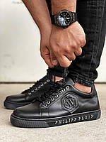Мужские кроссовки PHILIPP PLEIN обувь кроссовки ботинки кеды брендовые реплика копия, фото 1