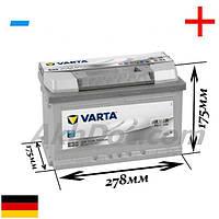 Varta 74Aч 750А Silver Dynamic E38 / 574 402 075 (-/+)