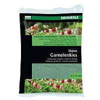 Грунт для мини-аквариумов DENNERLE Nano Garnelenkies, темно-зеленый