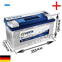 Varta 95Aч 800A Blue Dynamic G3 / 595 402 080 (-/+)