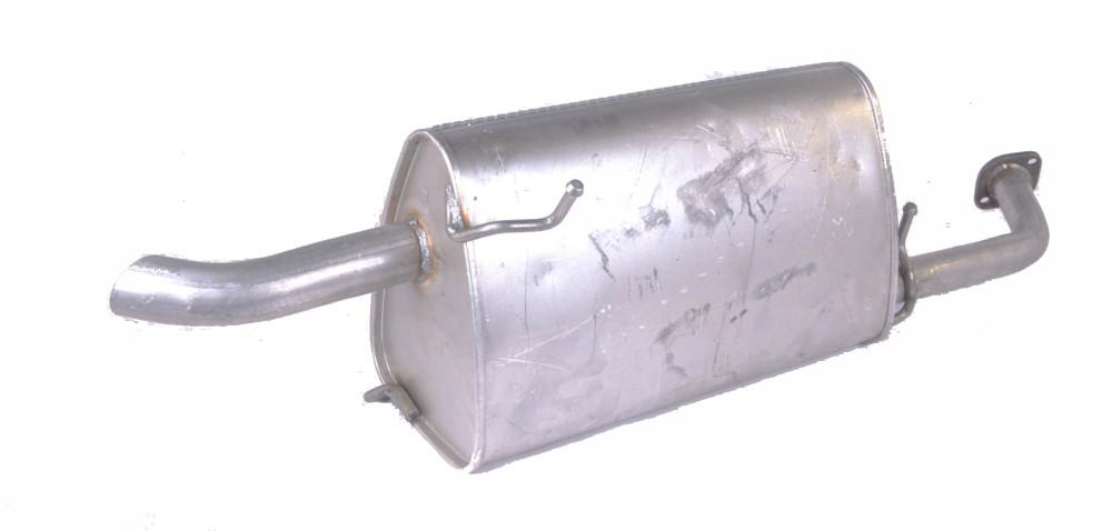 Глушник задній CHEVROLET LACETTI (виробництво Polmostrow) (арт. 22767)