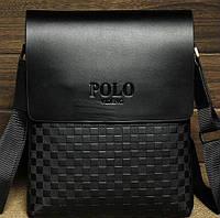 Стильная молодежная мужская сумка. Купить сумку Поло. Сумки для мужчин, сумки на подарок. Магазин сумок КС1