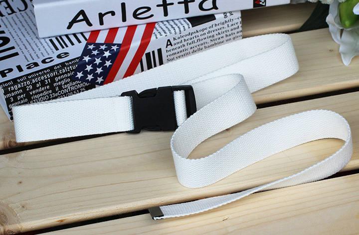 Ремень Пояс City-A Belt 120 см Color Тактический Белый, фото 2