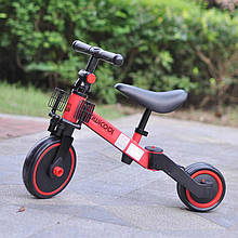 Беговел 2 в 1 с педалями Kiwicool 212516