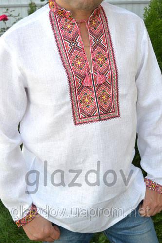 Вышиванка Белая Мужская — в Категории