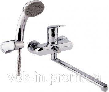 Cмеситель для ванны  Q-tap Jody 005 New CRM, фото 2