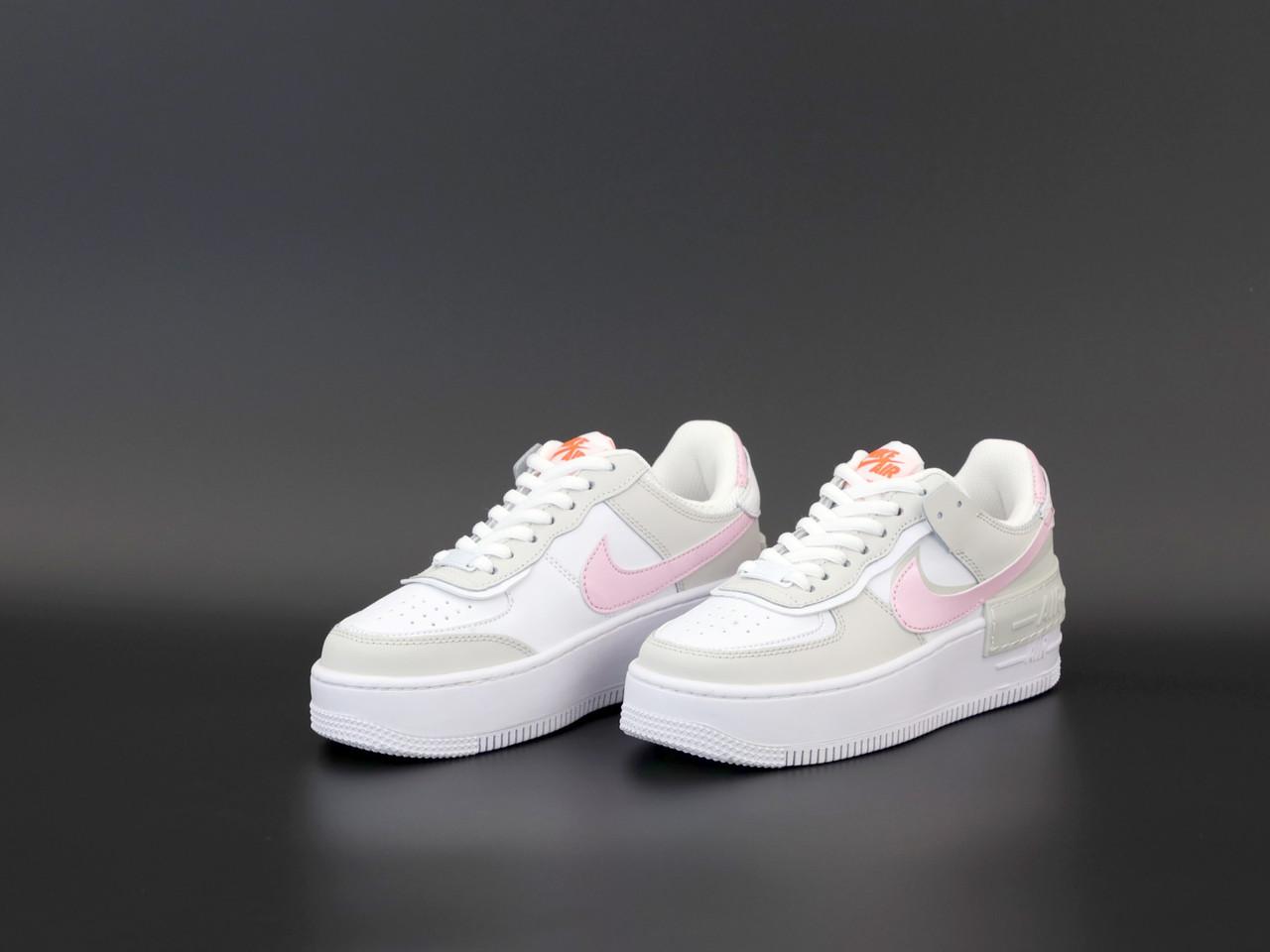 Женские Кроссовки Nike Air Force Shadow (реплика)