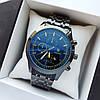 Мужские наручные часы Rolex (ролекс) черного цвета , антибликовое покрытие, дата - код 1719