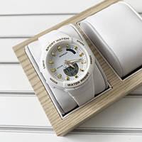 Часы наручные женские Sanda 6005 White-Gold ОРИГИНАЛ, фото 1
