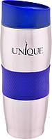 Термокружка 380 мл UNIQUE UN-1072 Blue
