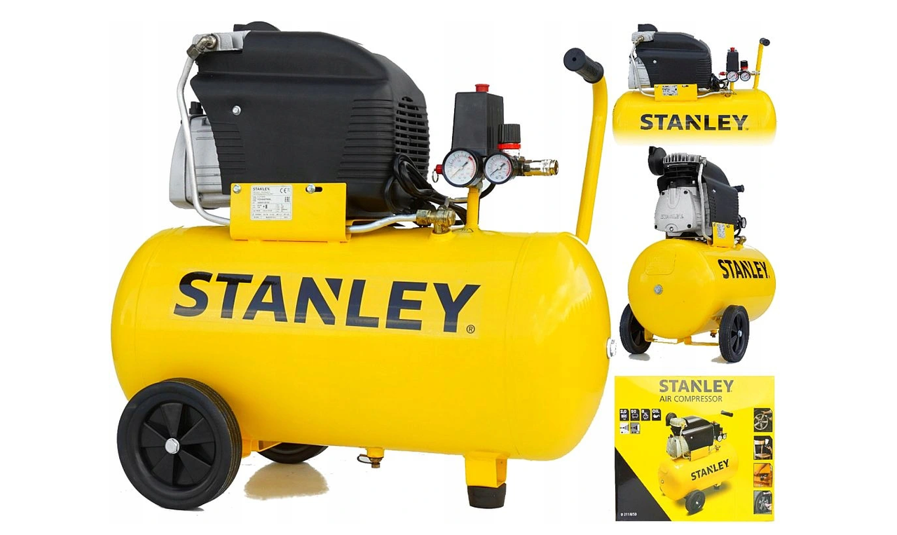 Масляний компресор Stanley FCDV404STN006 50L 8bar