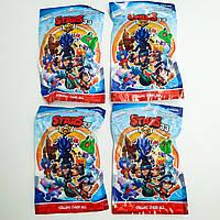 Фигурки Бравл Старс игровая карта в комплекте с фигуркой 7 см Brawl stars Heros 33 набор из 4 шт, фото 1