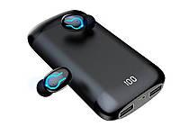 Опт. Гарнитура Power Bank HBQ Q66 TWS Bluetooth V5.0 с двойным микрофоном беспроводные