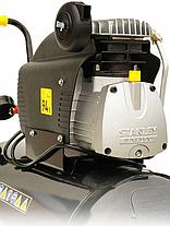 Масляный компрессор STANLEY FATMAX D 251/10 / 50S 50L 10bar 2.5KM, фото 3