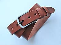 """Женский кожаный ремень """"Aspide"""" коричневый, фото 1"""