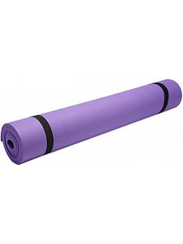 Йогамат для детей и взрослых Гимнастический коврик Коврик для фитнеса Коврик для йоги 4мм
