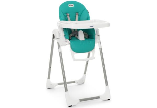Детский стульчик для кормления El Camino ME Бирюзовый стул для прикорма для ребенка от 6 мес