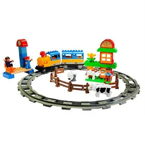 Детский конструктор железная дорога Игрушечная железная дорога Детская железная дорога