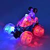 Машинка-перевертыш трюковая на радиоуправлении  со светящимися колесами Классная машинка для мальчика Подарок, фото 2