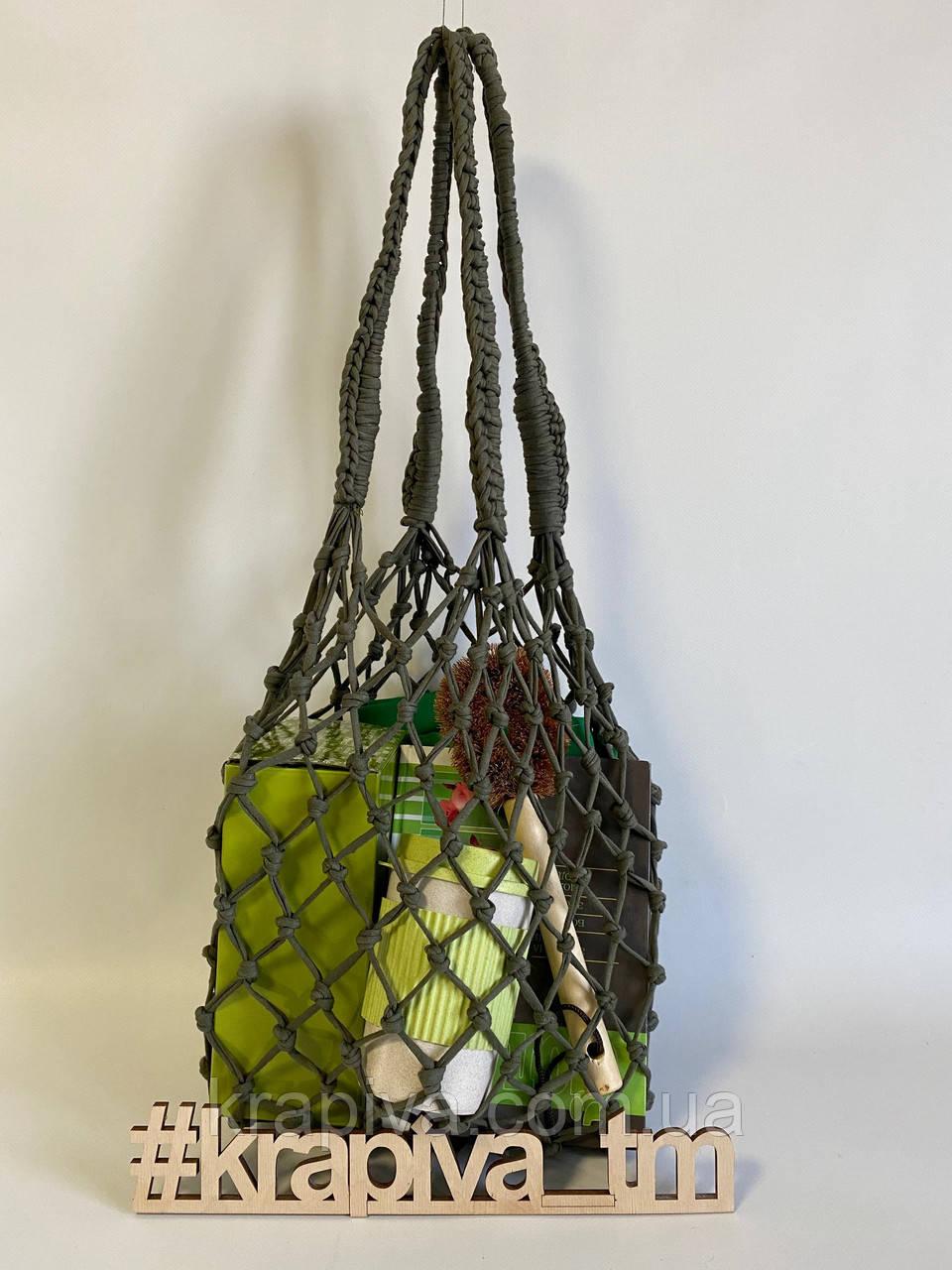 Эко-сумка, экосумка для покупок, торба шопер хлопок, авоська, экомешок