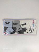 Махровые носки для новорожденного мальчика 3 пары. р. 0-3 мес, Турция