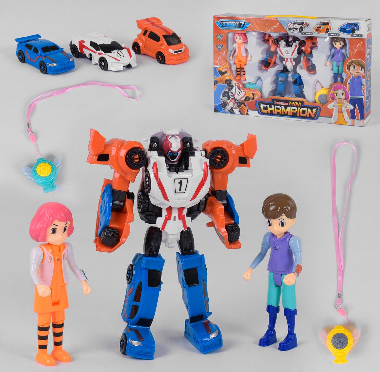 Детский робот машинка Трансформер для мальчика Роботы трансформеры Игрушки роботы-трансформеры