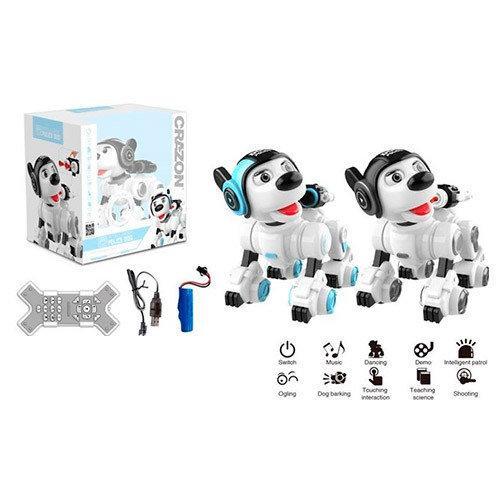 Собака интерактивная на радиоуправлении Собака на пульте Собака детская с пультом Собака робот