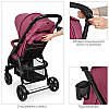 Детская прогулочная коляска Коляска для ребенка Прогулочная коляска для детей Детские коляски для девочки, фото 3