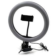 Лампа кольцевая светодиодная USB Ring Light 7327, 30 см
