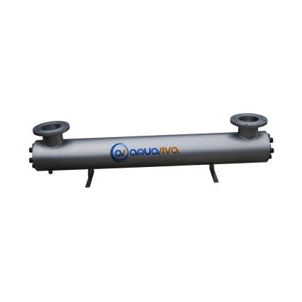 Aquaviva Ультрафиолетовая установка Aquaviva AVUF77T, до 85 м3, DN125 1.2кВт (7шт/155Вт)