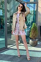 жакет женский Modus Реплей коттон плотный однотонный не стрейч жакет 9263, фото 2