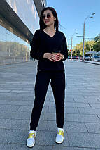 костюм женский Modus Стай лайт трикотаж двунитка турция тонкий костюм 9342, фото 3