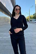 костюм женский Modus Стай лайт трикотаж двунитка турция тонкий костюм 9342, фото 2