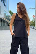 костюм женский Modus Лайм трикотаж двунитка турция тонкий прогулочный костюм 9402, фото 2