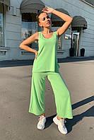 костюм женский Modus Брют вискоза однотонная стрейч хлопок костюм 9430