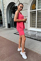 костюм женский Modus Брют вискоза однотонная стрейч хлопок костюм 9430, фото 3