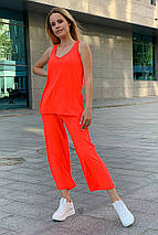 костюм женский Modus Брют вискоза однотонная стрейч хлопок костюм 9430, фото 2